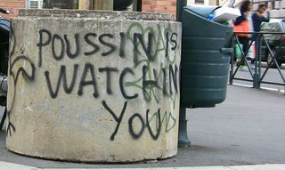 Poussin is watching you 002